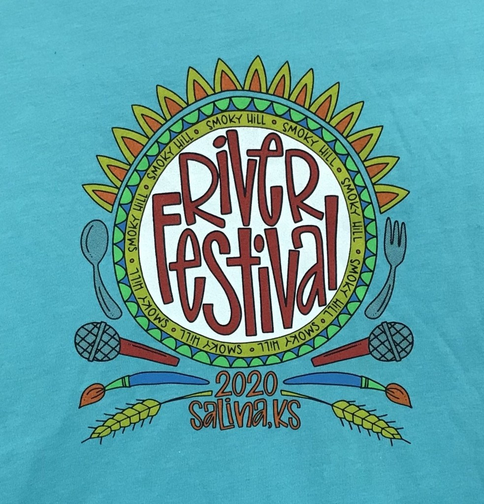 2020 Festival T-Shirt by Julie Cates