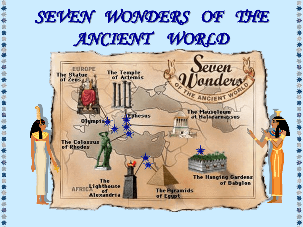 Thursday 6 29 3 4 Pm Wonders Of The Ancient World