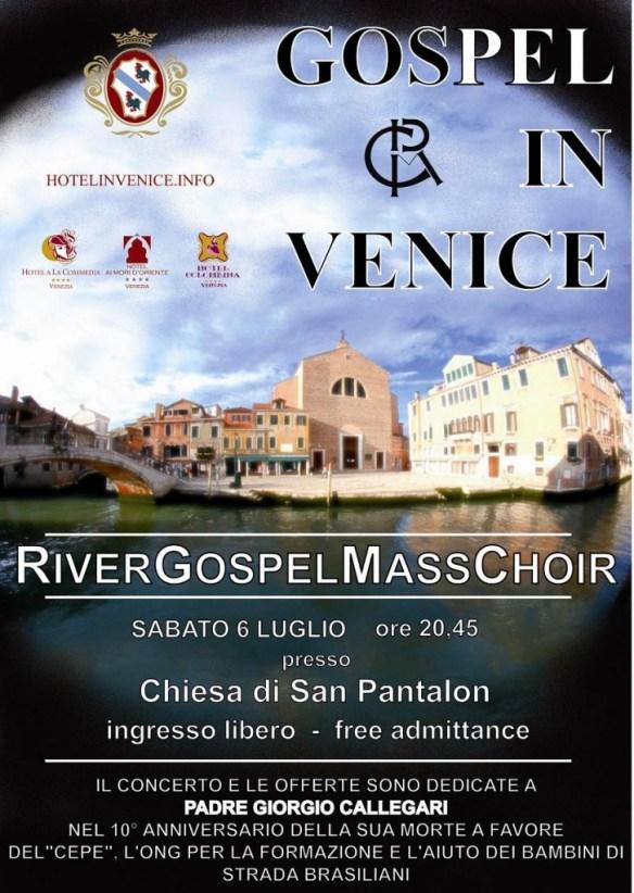 Locandina Venezia Luglio 2013
