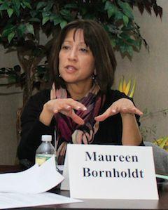 Maureen Bornholdt, renewable energy program manager in the Department of the Interior's Bureau of Ocean Energy Management