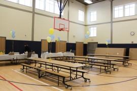 "The new ""cafetorium"" space will serve as a cafeteria, gymnasium and auditorium."
