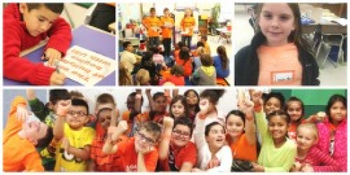 A collage of Unity Day events in Riverhead Central School District.