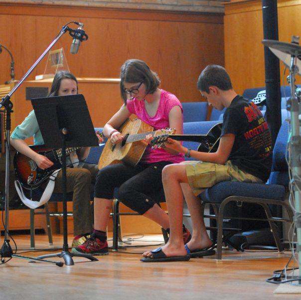 Student Guitar Trio with Teacher