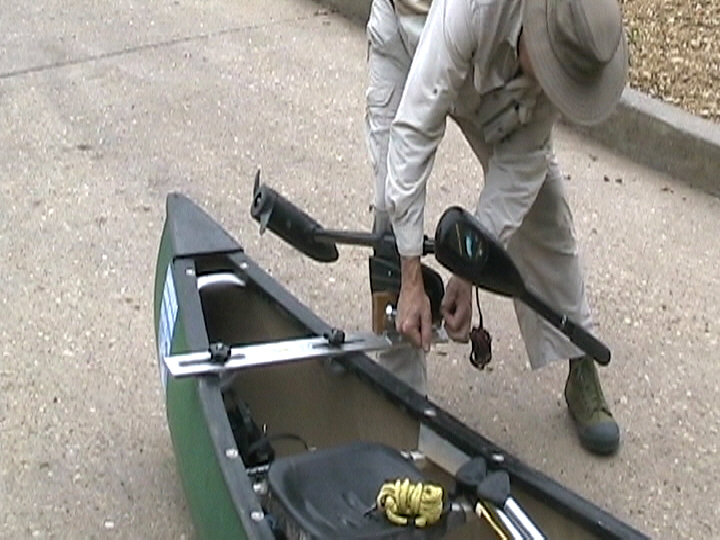 Ing An Electric Trolling Motor To A