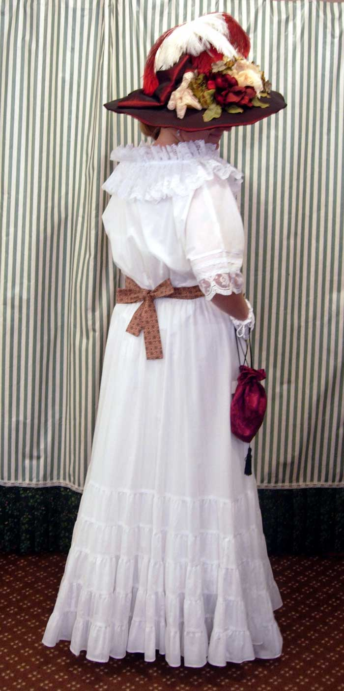 Victorian Dress Ladies Late Victorian And Edwardian