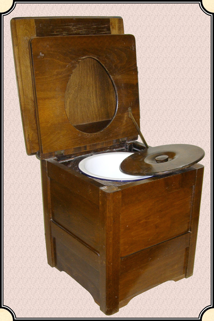 Z Sold Chamber Pot Chair Just When You Thought Your Camp Had Everything