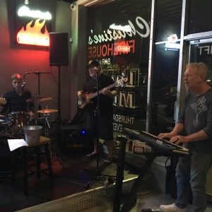 Live music at Christine's Firehouse bar and grill