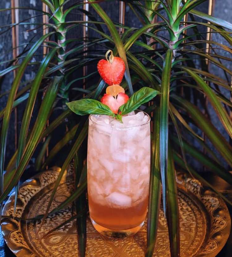 Heart of the Storm Rum Cocktail from Tiki Huna.
