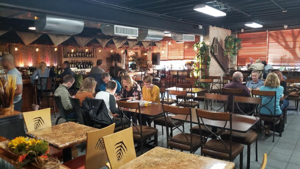 Diners at Chef Tito's American Fusion in North Kansas City