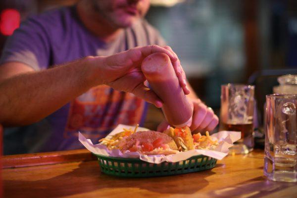 Tacos at Pat's Pub