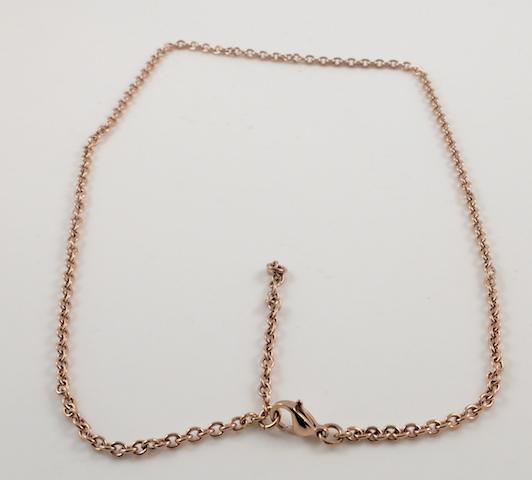 Cross chain clasp