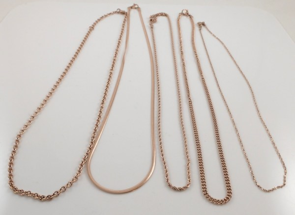 Rose Gold-plated Chains