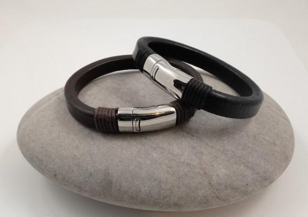 Chunky Leather Bracelets