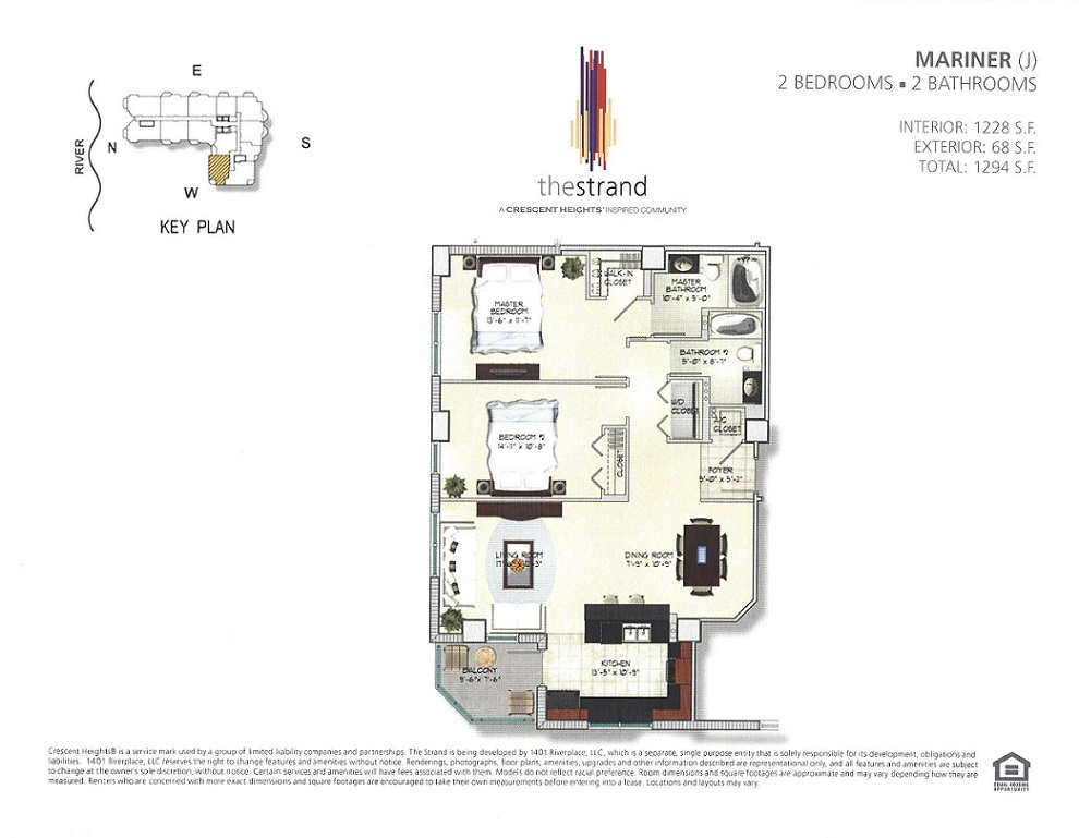 The Strand Apartments Floorplans Riverplace Realty