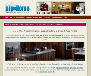 AIPatHome.com screenshot of homepage