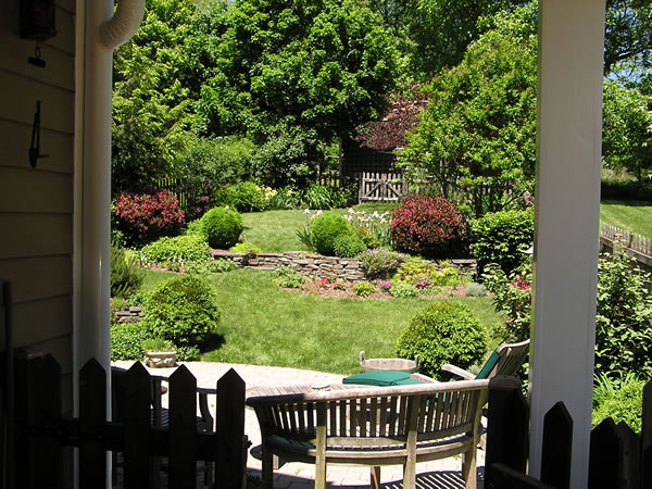 Uphill backyard landscaping | The Front to the Back Yard ... on Uphill Backyard Ideas  id=38854