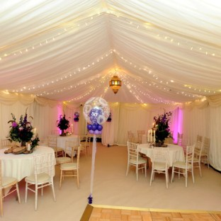 Hire a marquee for your hen and stag parties