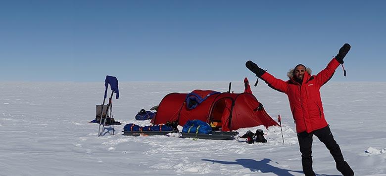 Kaweh Almassy og Sharam Khalifhe drømmetur til Svalbard