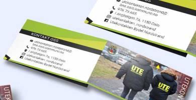 Riverside web og grafisk avdeling har laget brosjyre for Utekontaktene i Bydel Nordstrand