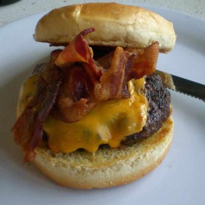 Bacon Cheeseburger from The Counter