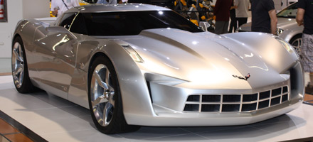 Sideswipe Corvette