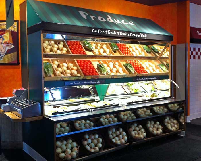 Fuddruckers - Produce Bar