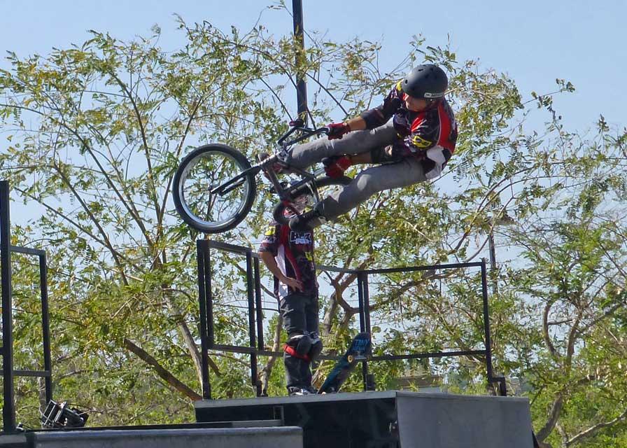 Dustin McCarty - BMX Pros Trick Team - 04/27/13 - Corona, CA