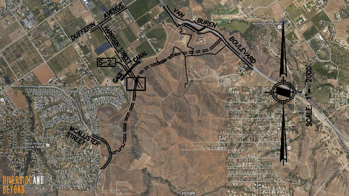 Street A / Fairway Drive Google Maps Overlay