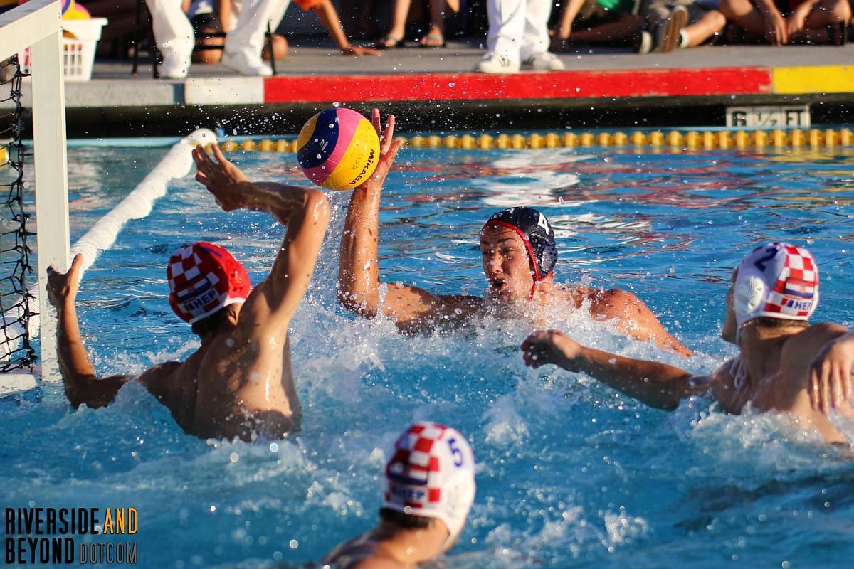 USA vs. Croatia - Men's Water Polo - Long Beach, CA 06/14/17