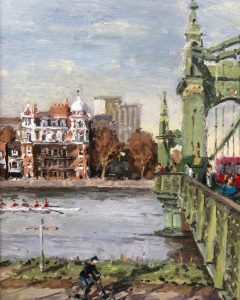 Hammersmith Bridge by Rod Pearce