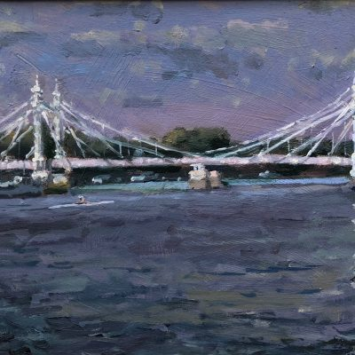 Albert Bridge by Rod Pearce Riverside Gallery Barnes