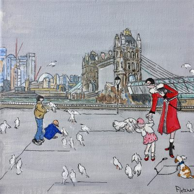 The Red Coat by Liz Fletcher Riverside Gallery Barnes