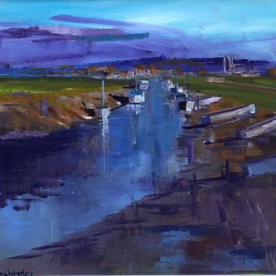 Morston Quay by Dan Walmsley Riverside Gallery Barnes