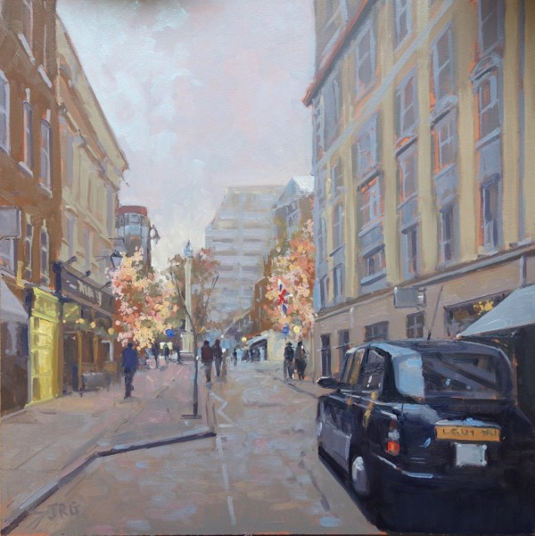 Crisp Autumn morning, Seven Dials by Jennifer Greenland