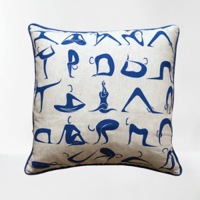 Yoga Cushion by Annabel Eyres