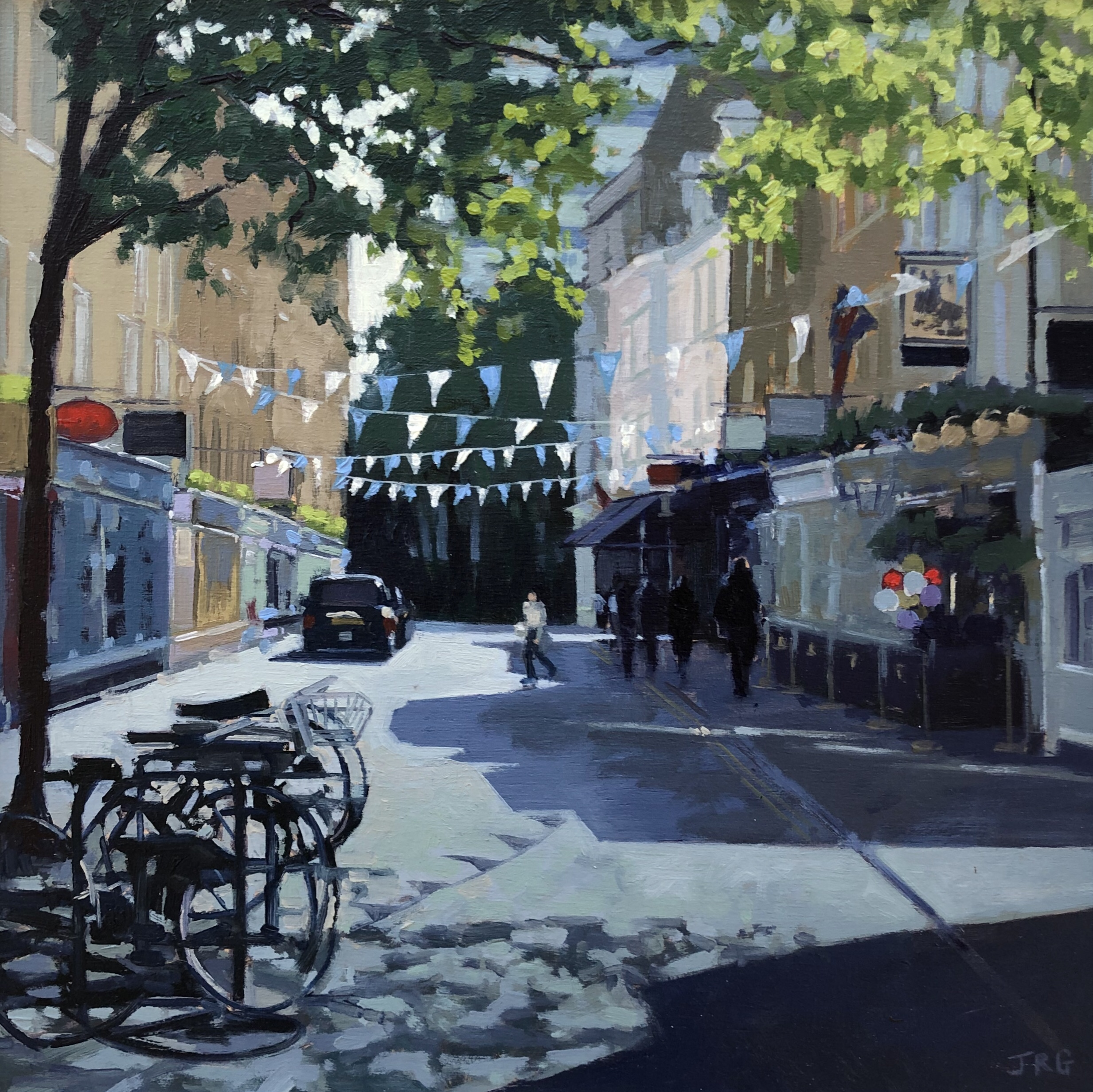 Monmouth Street Seven Dials London by Jennifer Greenland
