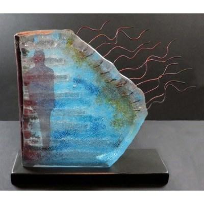 Blue Waves by Teresa Chlapowski