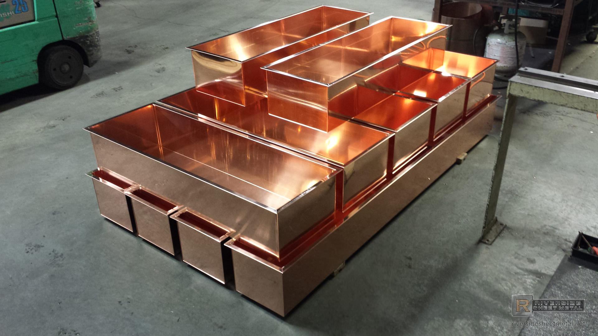 Built Custom Pans Copper