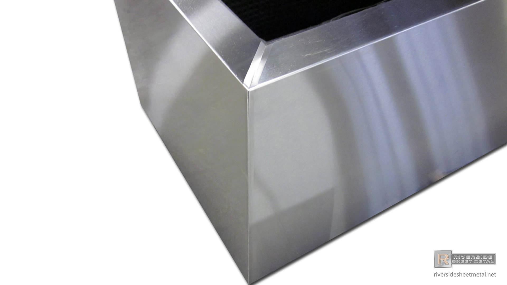 Rectangular Stainless Steel Planter 4 Custom Made To Order