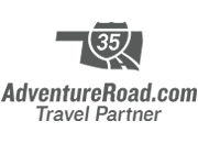 AdventureRoad.com Travel Partner Logo in grey