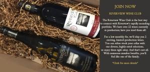 Riverview Cellars Wine Club