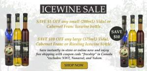 ICEWINE SALE