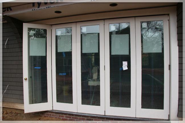 folding patio doors exterior folding