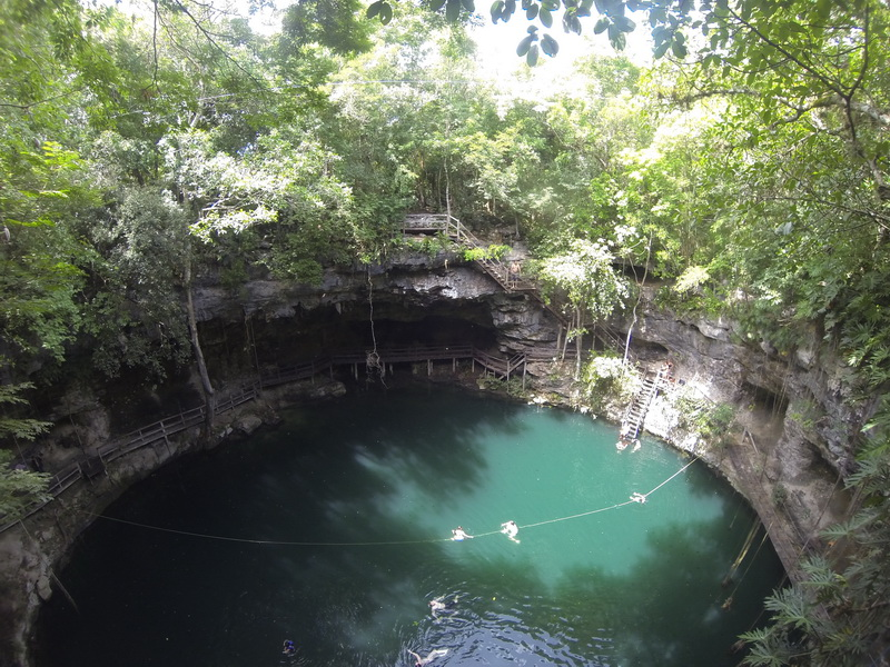 Ek-Balam cenote