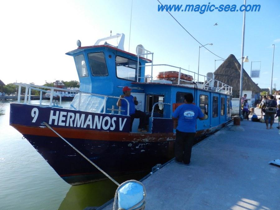 Isla Holbox ferry