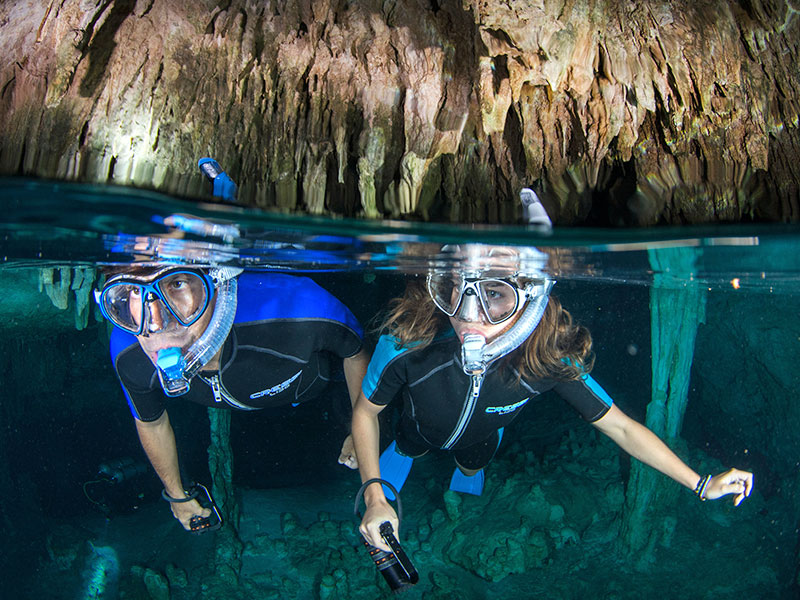 Cenotes Snorkeling Riviera Maya