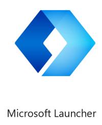 Il logo di Microsoft Launcher per Android