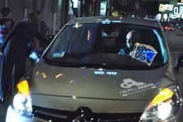 Autista alla guida di una Renault fornita da Aceto SpA.
