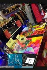 Prodotti e merchandising Amarelli all'interno del negozio di Abbigliamento Spaguolo (Cosenza).