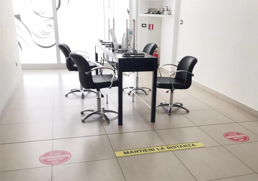 Protocolli di sicurezza - Alessandro Seven Hairdressing